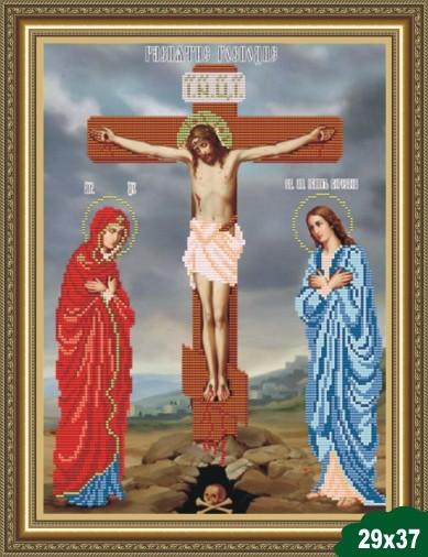 Вышивка крестом схема распятие христа 49